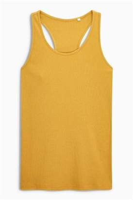 Next Womens Grey Rib Vest