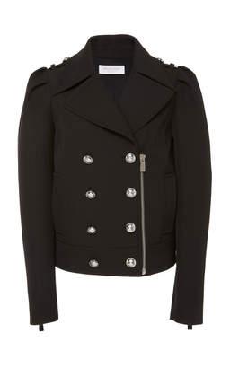 Michael Kors Cropped Wool-Cotton Coat