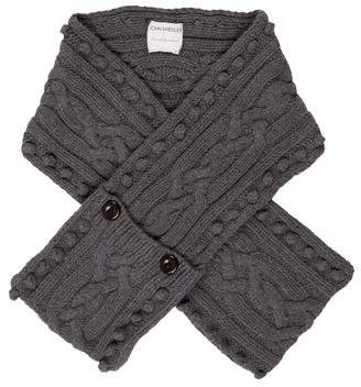 John Smedley Cable Knit Scarf