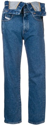 Diesel Red Tag dungarees-style jeans