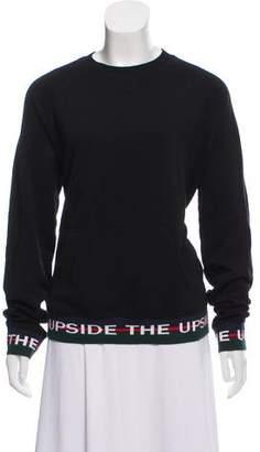 The Upside Oversize Graphic Pullover Sweatshirt