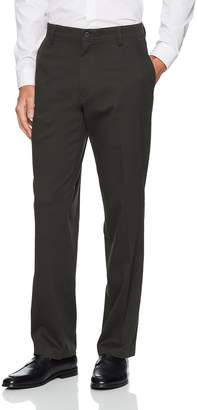 Dockers Easy Khaki D3 Classic-Fit Flat-Front Pant, Olive Grove, 42 30