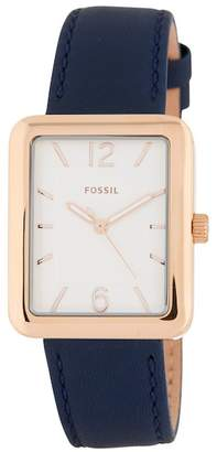 Fossil Women's Atwater Leather Watch, 28mm x 34mm