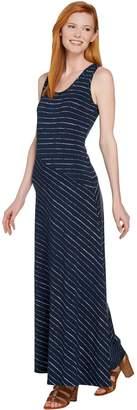 Lisa Rinna Collection Regular Striped Knit Maxi Dress