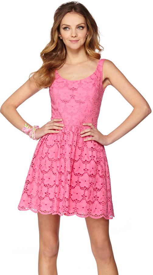 Lilly Pulitzer FINAL SALE - Calhoun Scoop Neck Dress
