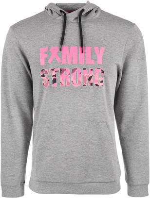 Id Ideology Breast Cancer Awareness Family Strong Hoodie