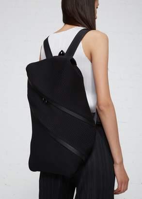 Pleats Please Issey Miyake Large Double Zip Backpack