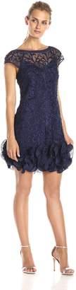 Jessica Simpson Women's Ruffle Bottom Dress