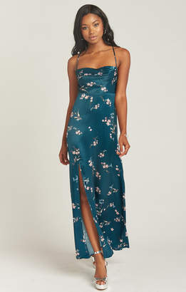 Show Me Your Mumu Winslet Cowl Maxi Dress ~ Pixie Dust Floral Sheen