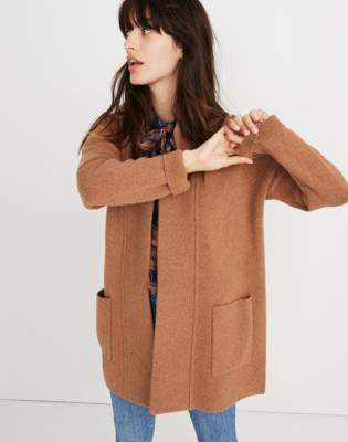 Madewell Spencer Sweater-Coat