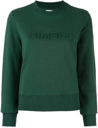 Nimble Activewear ロゴ スウェットシャツ