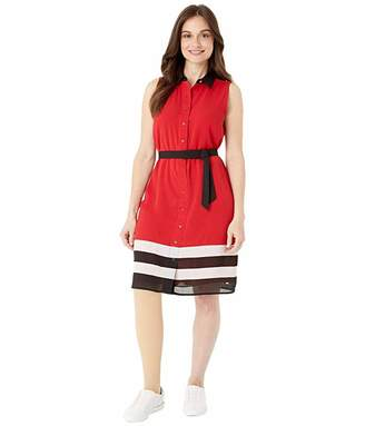 Tommy Hilfiger Adaptive Marcell Pleated Shirtdress