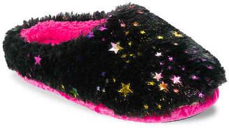 Dearfoams Star Pile Toddler & Youth Scuff Slipper - Girl's
