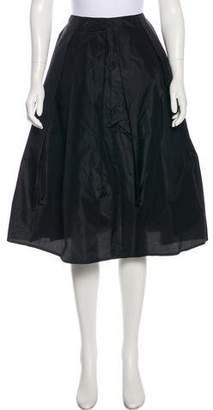 Sofie D'hoore Knee-Length Silk Skirt