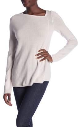 Inhabit Cashmere Angled Shoulder Sweater