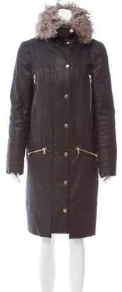 J Brand Long Sleeve Knee-Length Coat