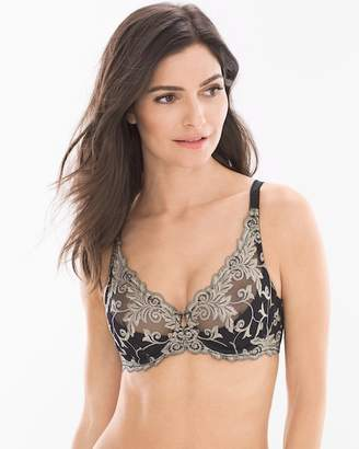 Sensuous Lace Plunge Push Up