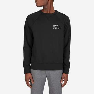 Everlane The Human Unisex French Terry Sweatshirt in Small Print