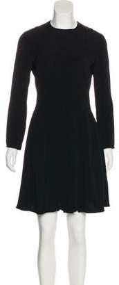 Giorgio Armani Long Sleeve Mini Dress