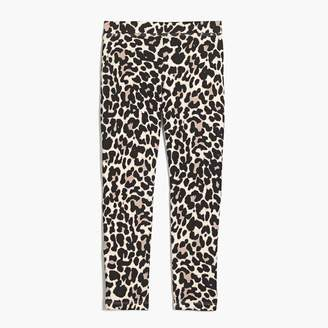 J.Crew Girls' leopard-printed leggings