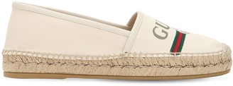 Gucci 20mm Cotton Canvas Espadrilles