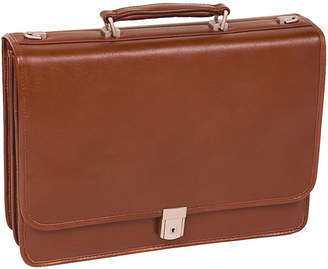 McKlein Lexington Flapover Double Compartment Briefcase