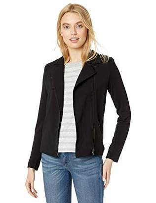 Majestic Filatures Women's French Terry Moto Jacket