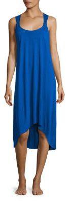 HEIDI KLEIN Como Twisted Back Hi-Lo Dress $230 thestylecure.com