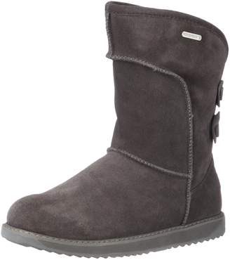 Emu Women's Charlotte Back Button Shearling Boot