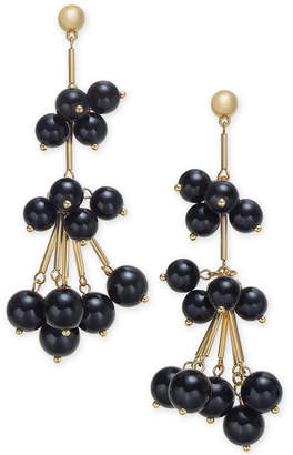 INC International Concepts I.n.c. Gold-Tone Stick & Ball Shaky Drop Earrings, Created for Macy's