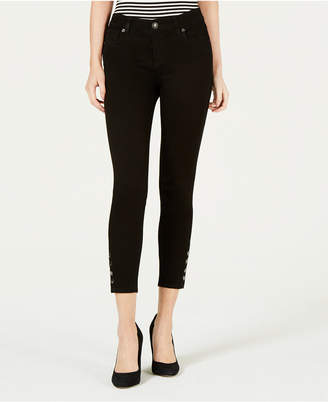 KUT from the Kloth Connie Snap-Hem Ankle Jeans