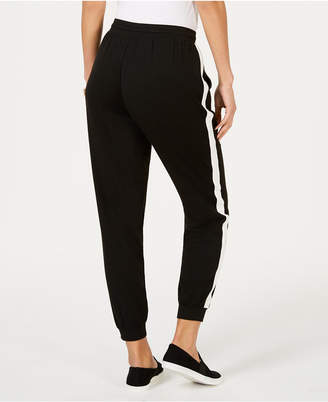 Style&Co. Style & Co Side-Striped Jogger Pants