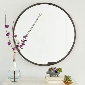 west elm Metal Framed Round Wall Mirror