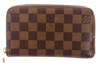 Louis Vuitton Damier Ebene Vertical Zippy Wallet