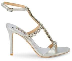Badgley Mischka Yuliana Crystal Embellished Sandals