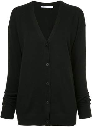 Alexander Wang twisted sleeve cardigan