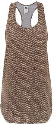 Track & Field printed sleeveless dress