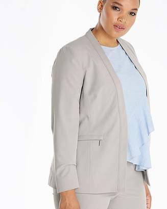 Fashion World Zip Pocket Tailored Jacket