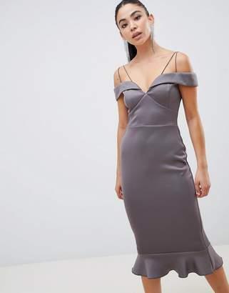 AX Paris double strap pencil midi dress