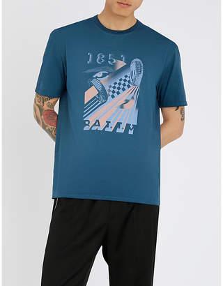 Bally Logo-print cotton-jersey T-shirt