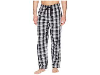 Jockey Plaid Poly/Rayon Sleep Pants Men's Pajama