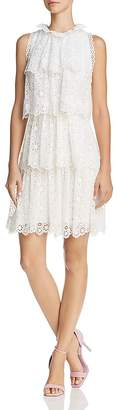 Rebecca Taylor Pinwheel Lace Dress