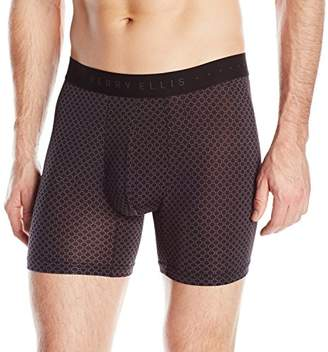 Perry Ellis Men's Neat Print Boxer Brief