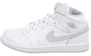 Nike Jordan Boys' 1 Leather Sneakers