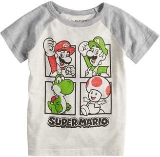 Toddler Boy Jumping Beans Super Mario Bros. Raglan Graphic Tee