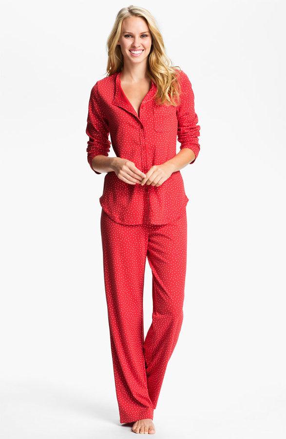 Carole Hochman Designs Interlock Knit Pajamas