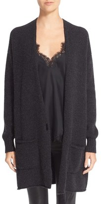 Women's Helmut Lang Long Wool & Cashmere Cardigan $620 thestylecure.com