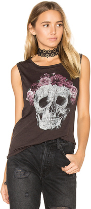 Chaser Flower Crown Skull Tee $59 thestylecure.com