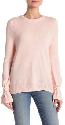 Joe Fresh Mix Stitch Flutter Sleeve Sweater