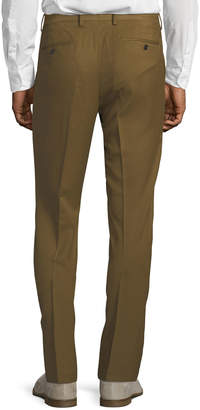 Tailorbyrd Men's Cavalry Stretch Straight-Leg Pants, Camel